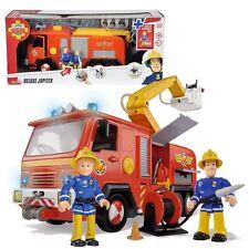 Fireman Sam - Jupiter Vehicle Fire Engine with Sound, Light & Toy Figures