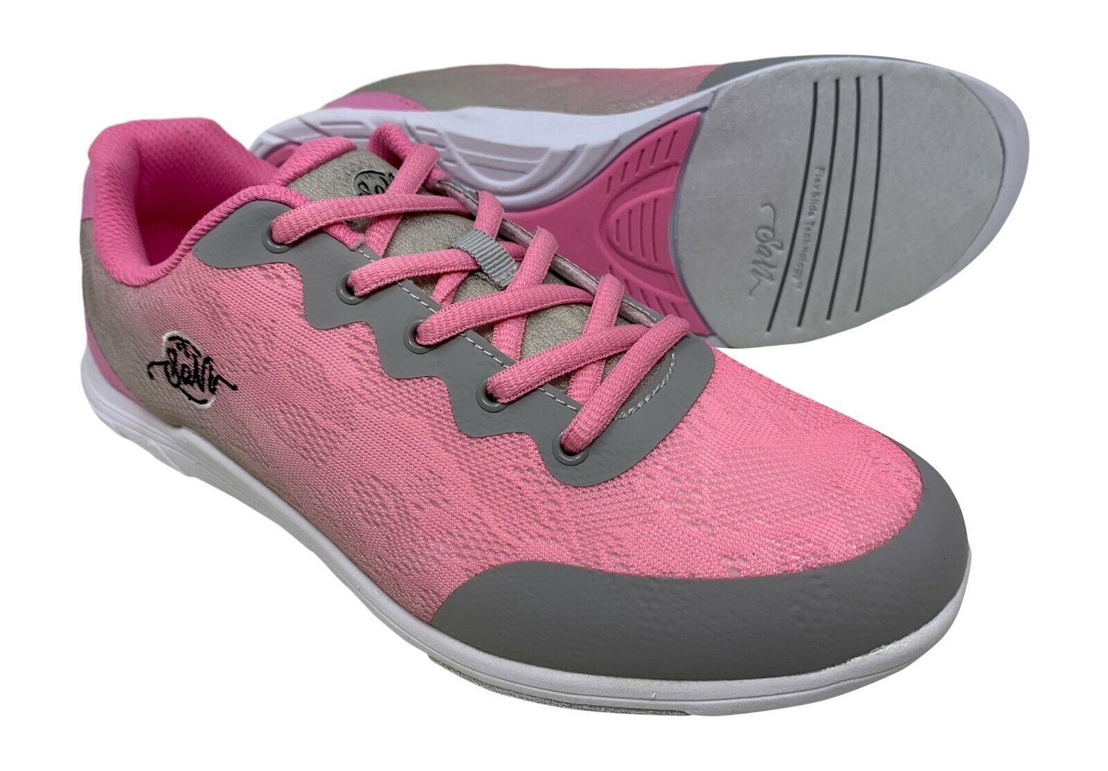 New Women's SaVi Savannah Pink Grey Bowling shoes Size 9.5
