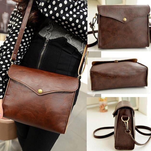Women's Leather Shoulder Bag Satchel Clutch Handbag Tote Purse Hobo Messenger
