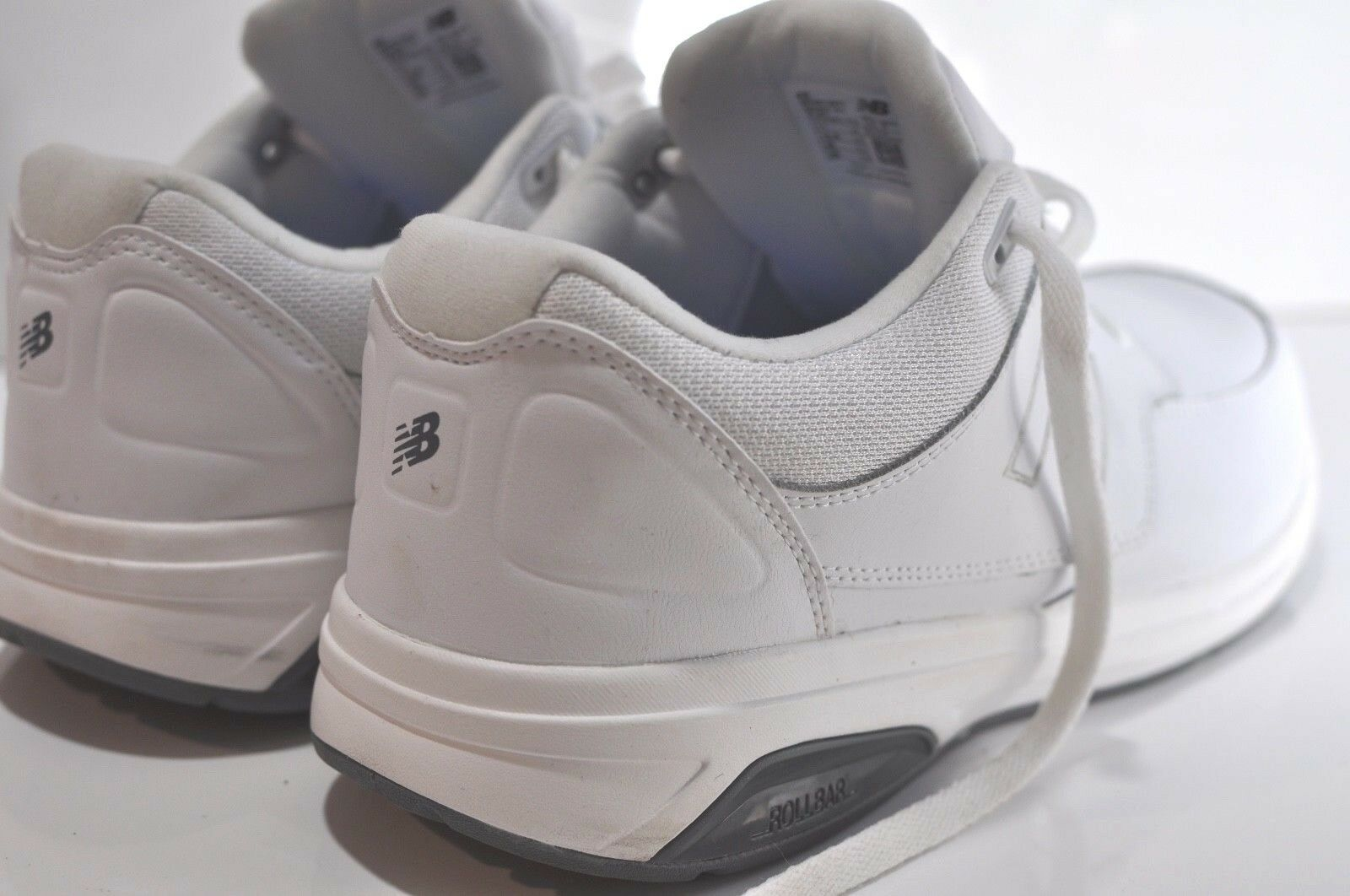 New Balance shoes E 4 11 size walking White Mens 813