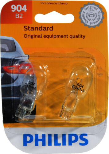 Twin Blister Pack Philips 904B2 Side Marker Light Bulb-Standard