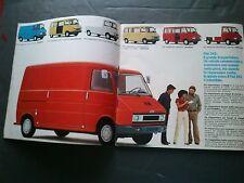 VINTAGE 1978 FIAT 242 VEICOLI COMMERCIALI SALES BROCHURE