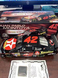 Rare-Juan-Pablo-Montoya-ROTY-2007-Dodge-Avenger-COT-Texaco-Havoline-1-24-NASCAR