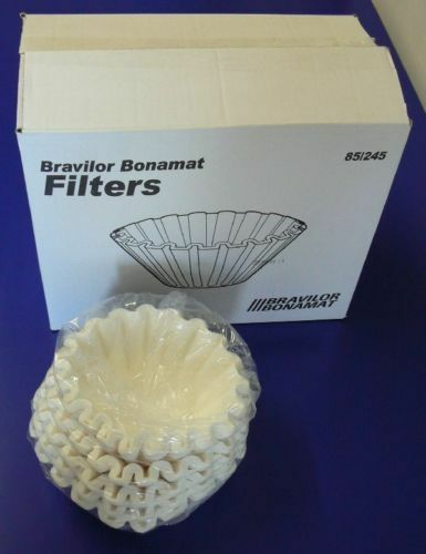 1x Karton Filterkörbchen Kaffeefilter Bonamat 85//245 mm 4x 250 Stück