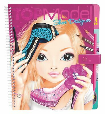 Top Model Shoe Designer By Depesche Colouring Book For Girls 6 4010070270223 Ebay