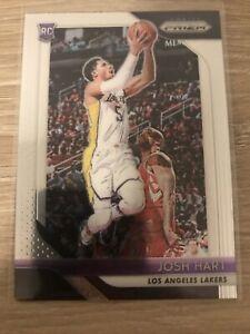 2018-19 Panini Prizm Base ROOKIE RC #46 Josh Hart Los Angeles Lakers Mint