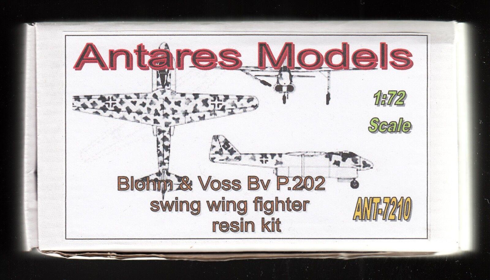 Ant7210  ANTARES - Jägerprojekt Blohm & Voss Bv P.202 - Resin - 1 72 - SELTEN  | Kunde zuerst