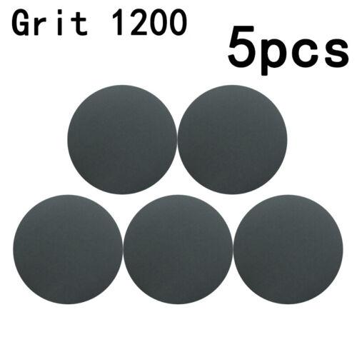 30tlg 125mm 800//1000//1200//1500//2000//3000 Körnung Schleif Papier Sandpapier Satz