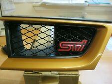 SUBARU IMPREZA R FRONT LEFT SIDE GRILLE 91121FE250BW IN AQUA BLUE METALLIC NEW