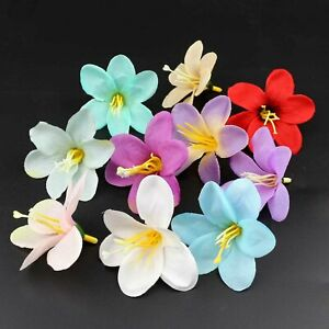 10-20-30Pcs-Artificial-Fake-Mini-Lily-Silk-Flower-Heads-Wedding-Party-Home-Decor