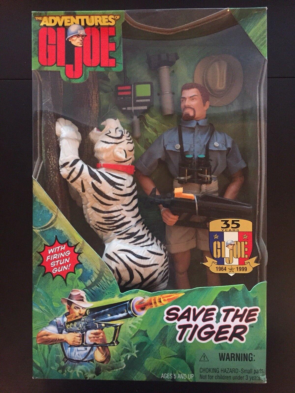 THE ADVENTURES OF GI JOE SAVE THE TIGER