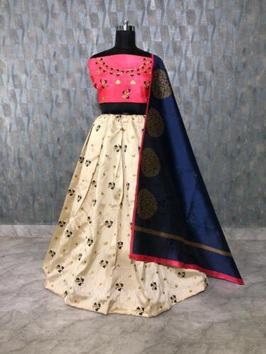 Bollywood Indio lehenga Lengha Choli elegante Desgaste Del Partido Pakistaní boda