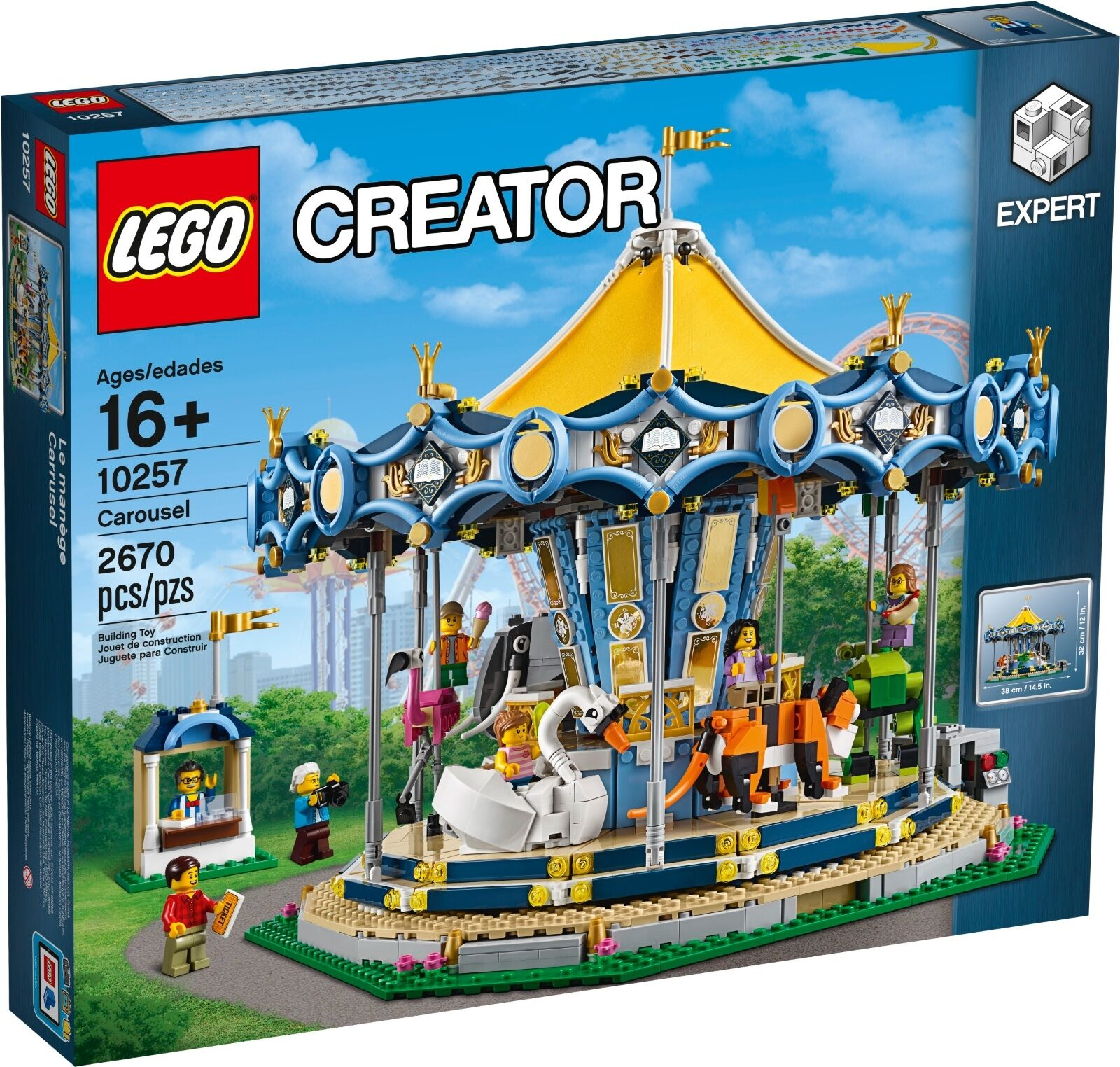LEGO ® Creator 10257 Carrousel Nouveau neuf dans sa boîte _ Carousel NEW En parfait état, dans sa boîte scellée Boîte d'origine jamais ouverte