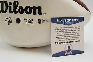 Warren-Moon-1-amp-Tony-Gonzalez-88-Certified-Autographs-Free-Shipping