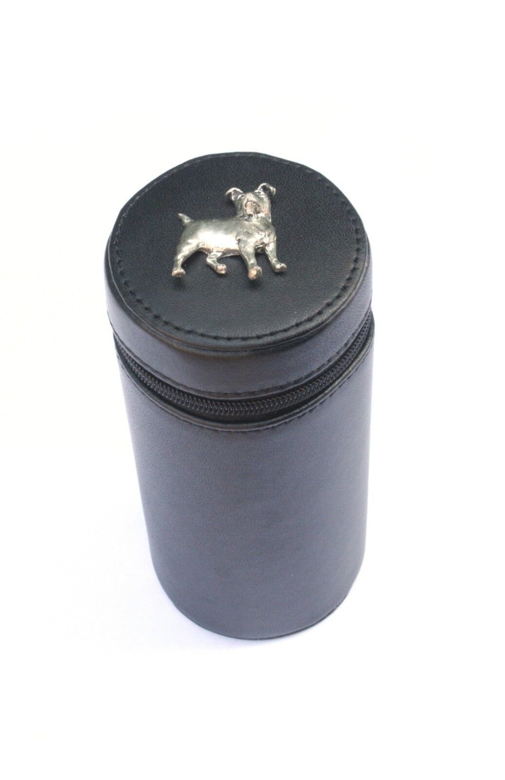 Jack Russell Shooting Peg Position Finder Numberojo Cups 1-10 negro Leather Case