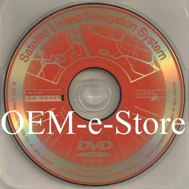 Acura TL MDX Honda Accord OEM Navigation GPS DVD CD Disc