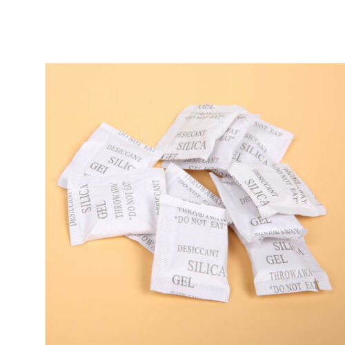 Lot 1g Packet Sachets Silica Gel Desiccant House Closet Moisture Absorbent #66