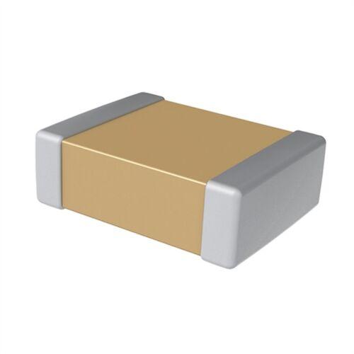 SMD-Kondensator 1,5pF 50V 5/% COG Vielschicht Bauform 0805 gegurtet