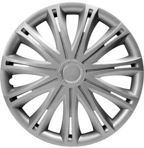 "Nissan NV 200 Primastar Navara 15"" Silver Wheel Trims Hub Caps Set of 4 New R15"