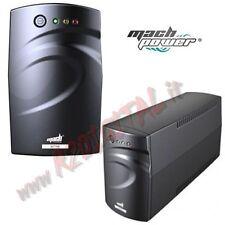UPS MACH POWER LIT10 ONDA SINUSOIDALE 1000VA LCD GRUPPO DI CONTINUITA BATTERIA