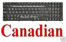 ASUS K75D K75DE K75A Keyboard - CA Canadian MP-10A76CU-6984W