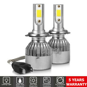 9004 HB1 300W 36000LM Front LED Headlight Bulbs Kit High//Low Beams 6000K Lamps