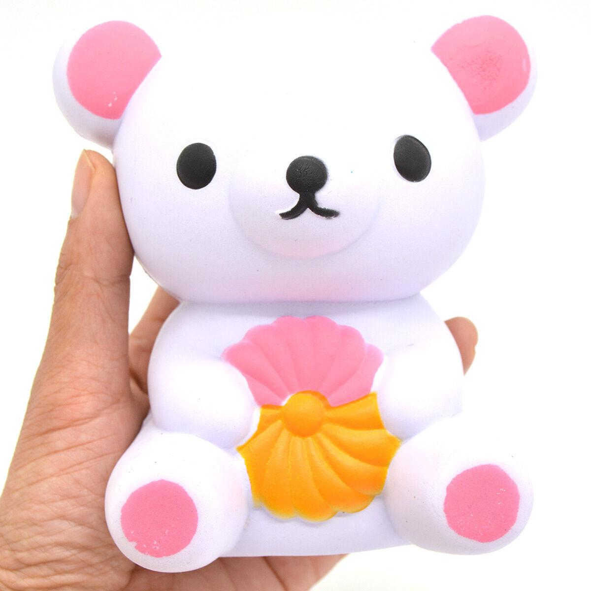 Squishy Toys Europe : New Arrival 12.5CM Cute Rilakkuma Squishy Slow Rising Cartoon Fun Toy Bear Doll eBay