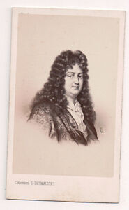 Vintage-CDV-Jean-Racine-French-dramatist-E-Desmaisons-Photo
