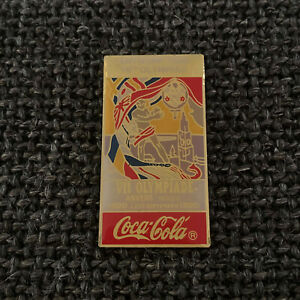PIN'S - COCA COLA - VII OLYMPIADE - ANVERS - ANTWERPEN - OLYMPIC GAMES