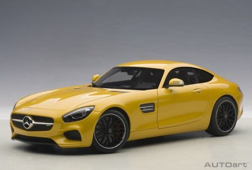 2015 YELLOW ORANGE-NUOVO Autoart 76314-1//18 MERCEDES BENZ AMG GT-S