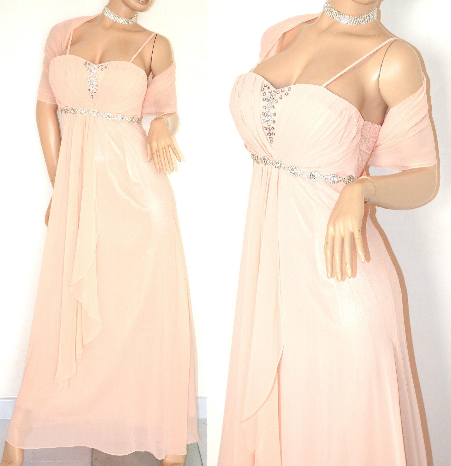 buy online 9fb9a 5c21a ABITO rosa CIPRIA donna VESTITO SETA elegante CERIMONIA ...