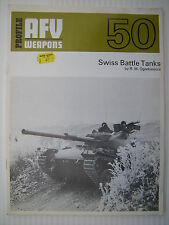 Profile AFV Weapons 50 - Swiss Battle Tanks - October 1972