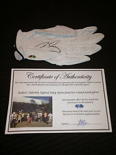 ROBERT ALLENBY GAME USED SIGNED AUTOGRAPHED PGA SRIXON GOLF GLOVE-COA-PROOF