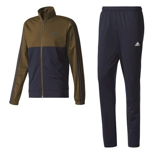 Adidas Back2Basics Sportanzug Trainingsanzug Tracksuit BQ8359