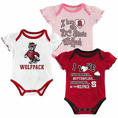Outerstuff Kentucky Wildcats 3 Points Baby//Infant 3 Piece Creeper Set