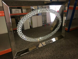 square-mirrored-with-a-oval-crystal-elegance-design-Wall-Mirror-125X85cm
