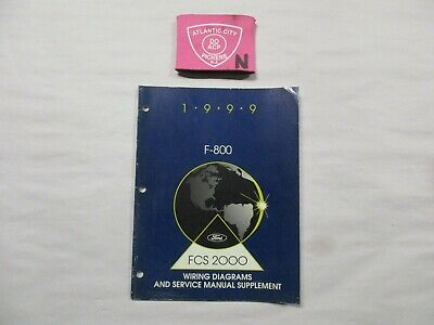 1999 FORD F-800 WIRING DIAGRAMS & SERVICE SHOP REPAIR ...
