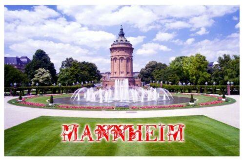 Mannheim Germany Deutschland Souvenir Kühlschrank Magnet Fotomagnet Geschenk