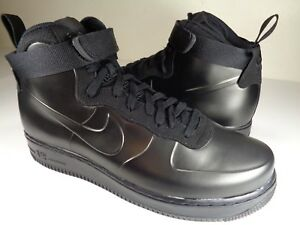 online store acdff 563bb Image is loading Nike-Air-Force-1-Foamposite-CUP-Triple-Black-