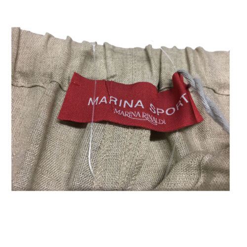 Rinaldi Cm Pantalons Marina Sport Fond Ficelle By Lin 100 Femme 27 qHqgE