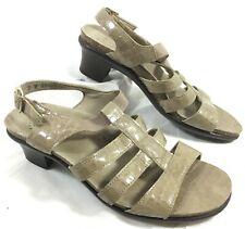 4605470a2b4036 item 2 Women s SAS Taupe Patent Leather Ankle Strap Croc Sandals ALLEGRO Sz  7 M -Women s SAS Taupe Patent Leather Ankle Strap Croc Sandals ALLEGRO Sz 7  M