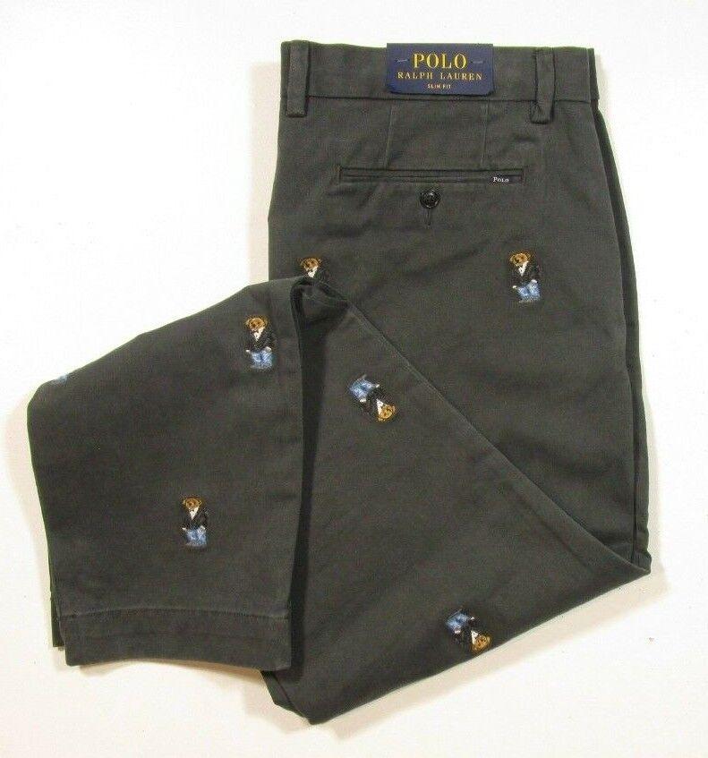 Corduroy X Gunsamp; Men's Embroidered Pants 38 Polo Ralph Lauren Fowl qMVzUpS