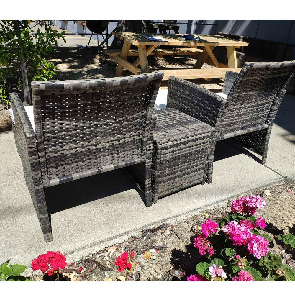 Patio Furniture Sets Clearance Outdoor Garden Rattan ...