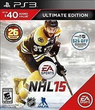 NHL 15 -- Ultimate Edition (Sony PlayStation 3, 2014)