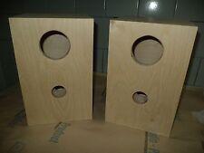 Speaker box for Fostex FE83E pair, Bass Reflex Type only ground