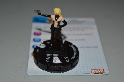 Marvel Heroclix Uncanny X-Men Lady Mastermind 012