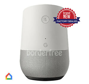 Google-Home-White-Slate-Google-Personal-Assistant-BRAND-NEW