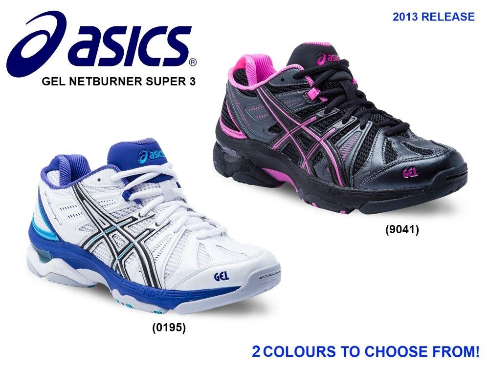 Asics Gel Netburner Super 3 Netball Shoes (B) NEW 2013 - RRP $200 + FREE POST