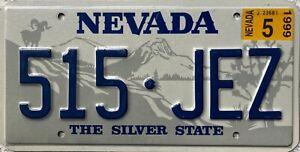 GENUINE-American-Nevada-Ram-Graphic-Pressed-USA-Licence-License-Plate-515-JEZ