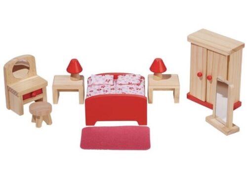 Playtive Casa De Muñecas Muebles De Dormitorio De 14 piezas